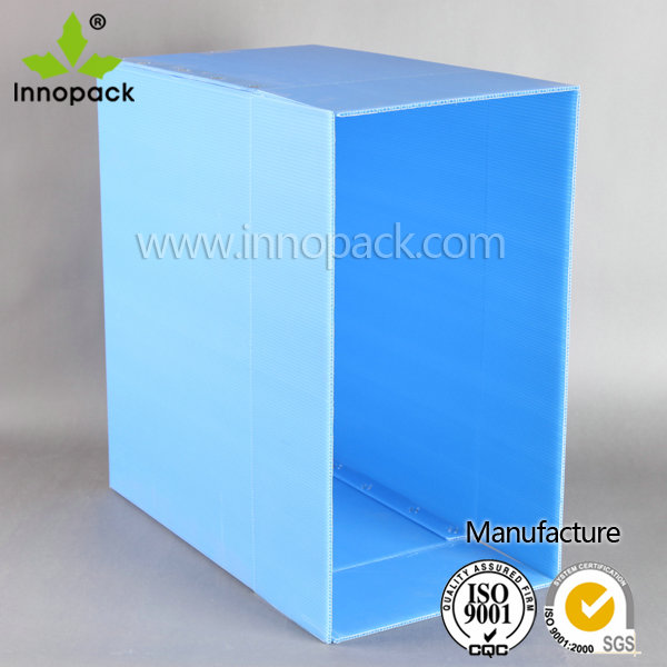 plastic foldable stackabel recycled PP turnover box