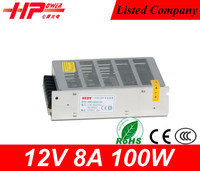 Manufacturer ac led driver ic CE RoHS approved constant voltage driver for led single output led driver 100w