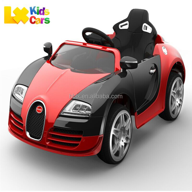Newest Bugatti Licensed 12 volt Electric car Toy for Kids,R/C Ride on electric toy car 2017