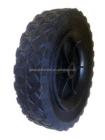 rubber wheel tire 150mm for golf trolley