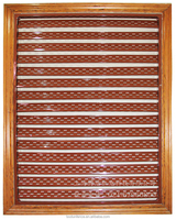Chineses wrought iron louvre window box