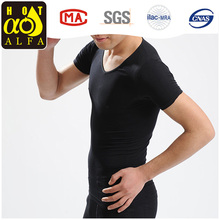 2017 hot selling blank fitted t-shirt with breathable and comfortable Y60