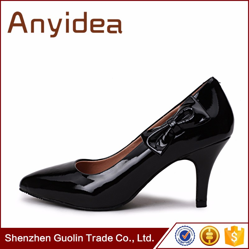 hot sale sexy women pointed toe pumps lady fashion high heel shoes
