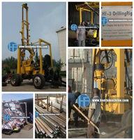 hot hot hot!!! deep water well drilling rigs with wheel chassis