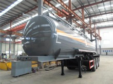 3 axles tank semitailer for transporting NaOH 008615826750255 (Whatsapp)