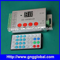 With IR remote panel 4 outputs led strip dmx rgb led controller