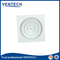 air ventilation round jet diffusers hvac system adjustable round diffuser