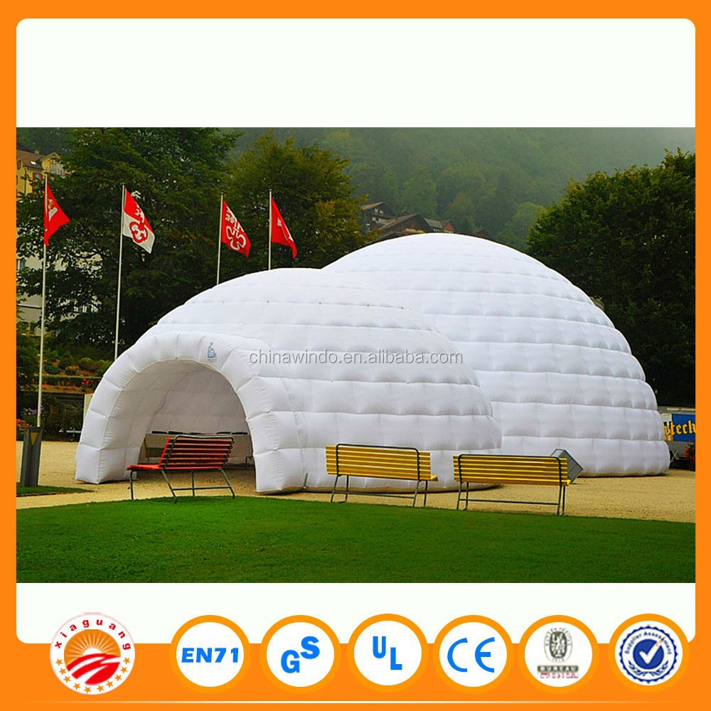 Waterproof Inflatable Big Party Marquee Tents for Wedding Receptions Events