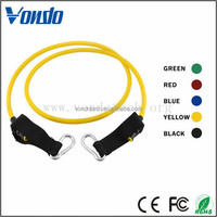 China top ten selling products rubber exercise fitness stretch resistance bands