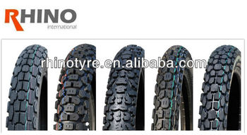 Rhino Brand Motorcycle Tyre made in China for on/off road