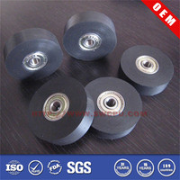 Available in NR inline rubber inline roller skates wheel for industry