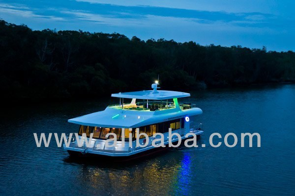 Aluminium Luxury House Boat