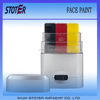 face paint for world cup and European championship Sports Face paintting and brush 2015 China new product face paint for promo