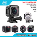 ZXS-360D 360 4k Action camera manufacturer China 360 Camera 360 WIFI VR Video Sports Camera