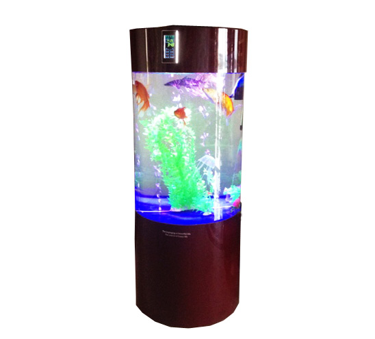 Modern round shape large acrylic fish tank fish aquarium