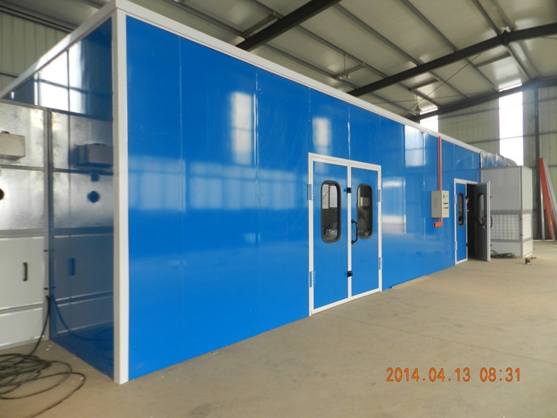 longxiang wood panel furniture spray paint booth LY-100
