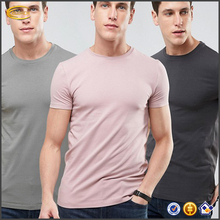 Ecoach t shirt in bulk new pattern Stretch jersey crew neck muscle fit 100%cotton wholesale men t shirts