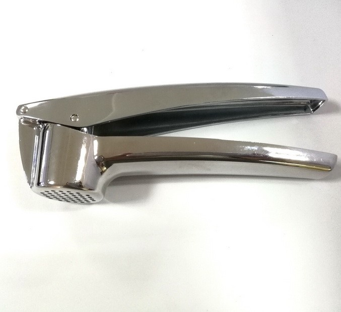 Mirror polishing garlic press