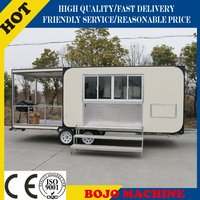FV-68 Mobile Kitchen/mobile kitchen truck/catering trailers for sale