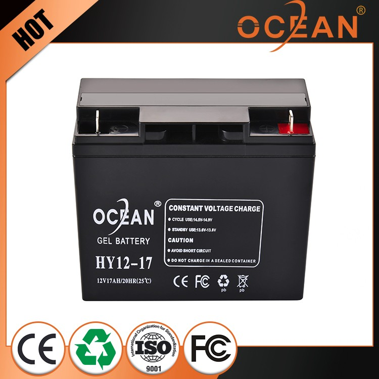 Anti-corrosion low price 12V 17ah latest ups battery 12v