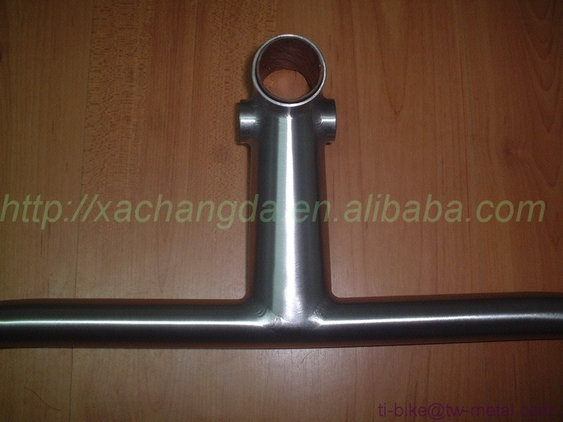 XACD Titanium Handle Bar for Road Bikes Titan Touring Bicycles Bar Custom Ti Racing Bicycles Handle Bar integrated in China