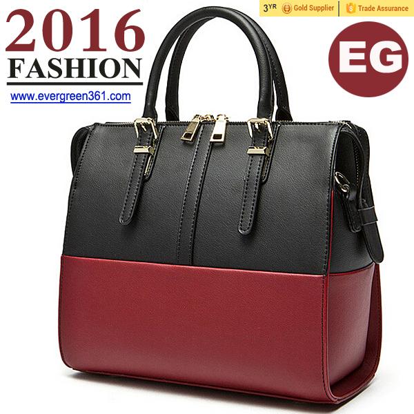 Bags handbags wholesale china fashion bag manufacturer color collision
