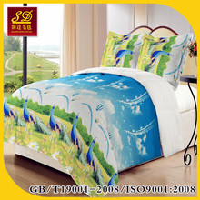 super soft high quality mink 3D embroidery raschel blanket