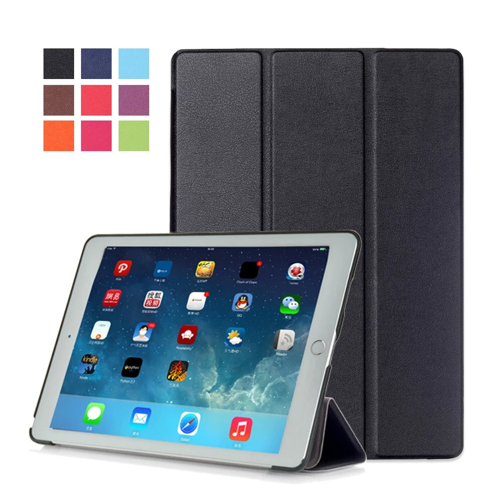 Ultra Slim Leather Case Stand Cover for iPad Pro 9.7 inch, for iPad Pro 9.7 Tablet PC Case