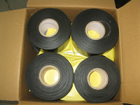 Polyethylene butyl rubber anticorrosive protection tape for buried or immersed steel pipelines