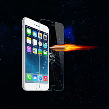 High quality for iphone 6 mirror tempered glass screen protector, tempered glass screen
