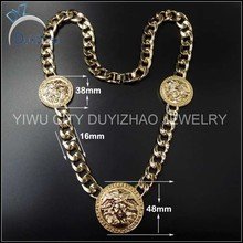 latest 16K gold hip hop chain necklace