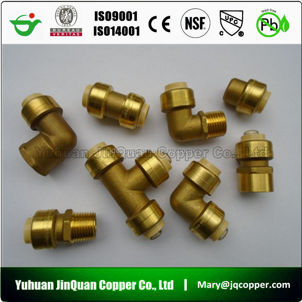 16 High Quality Top Supplier in China make high quality cUPC NSF Lead Free Push Fit Plumbing Fittings