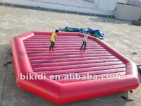 2012 PVC inflatable cushion/kids jumping bed