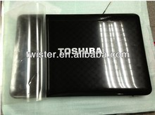 LAPTOP SHELL For TOSHIBA L600 L700 L640 L645 L740 L745 lcd cover with bezel and hinges A cover +B cover+Hinges