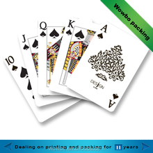 Promotional Custom Logo Printing Advertising Paper Playing Cards