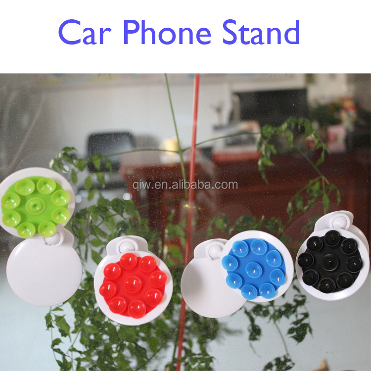 Christmas gift strong sorption grip Collapsible smart cell mount car phone holders 2016