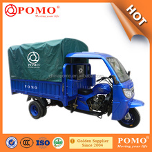 2016 China Strong Heavy Load Water Cooled Cargo Motorized Gasoline 300CC Bajaj Three Wheel Motorcycle