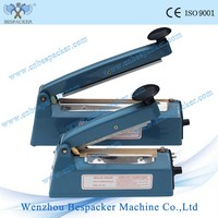Plastic Body Manual Impulse Heat Plastic Bag Sealer Machine