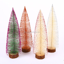 Beautiful Holiday Decorated Mini Artificial Christmas Tree for Decorating, Crafting, and Displaying