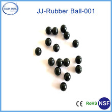 manufacturer high bouncy 2mm 3mm 4mm 5mm 6mm large rubber ball