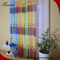 2016 high quality low price fashion window sheer curtain fabric