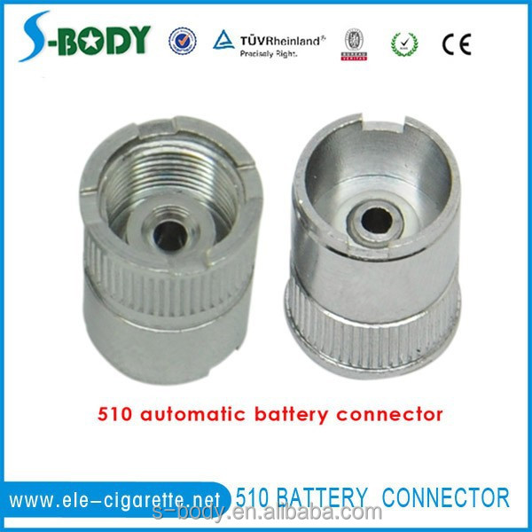S-body hot selling 510 manual battery adaptor spring loaded 510 connector