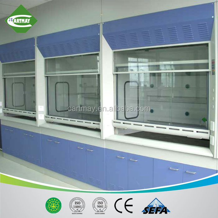 steel laboratory combined fume hood exhaust fume hood industrial exhaust hood