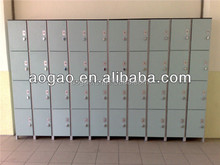 solid phenolic 4 compartment locker