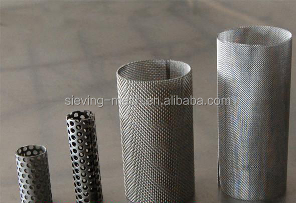Stainless Steel Perforated Mesh Cylinder Perforated