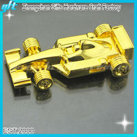 2016 High quality metal art gifts and crafts,gold art for sale , 3D design car model
