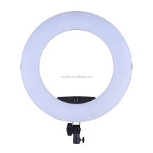 2018 fashion popular photography FD-480II black bi-color photo studio circle make up mirror ring light Led