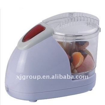 XJ-7K105 with easy to operate SS blade 150w vegetable chopper