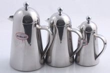 stainless steel turkish copper coffee pot