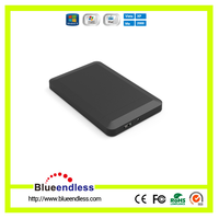 "Newest Plastic Design 2.5"" hard disk case support up to 2TB"